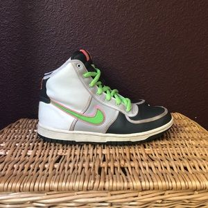 Nike Neon Original Hi-Tops